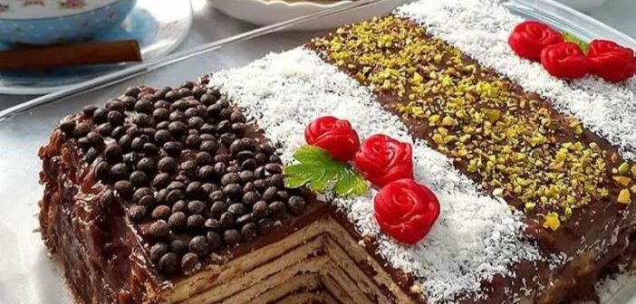 طرز تهیه کیک یخچالی خوشمزه با دستور آسان و امتحان شده