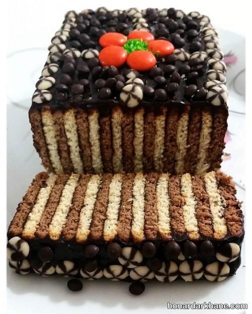 طرز تهیه کیک یخچالی خوشمزه