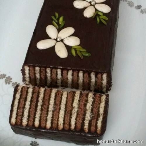 روش تهیه کیک یخچالی