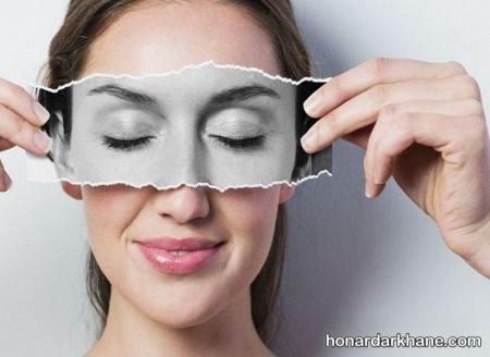 ماسک از بین بردن سیاهی دور چشم