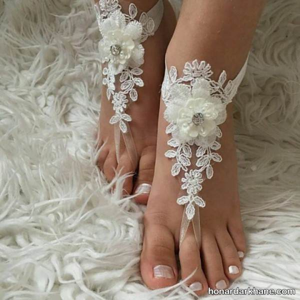 مدل جدید پابند برای عروس