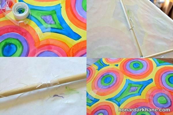 آموزش ساختن بادکنک با کاغذ