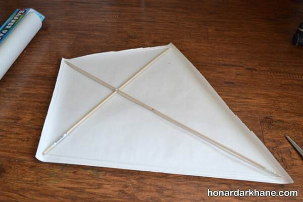 بادبادک کودکانه با کاغذ