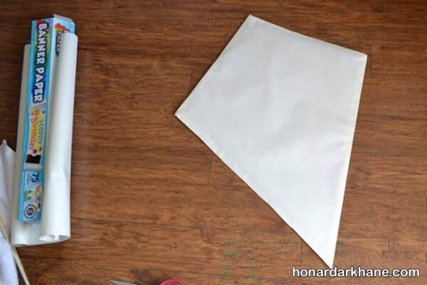 درست کردن بادکنک کاغذی