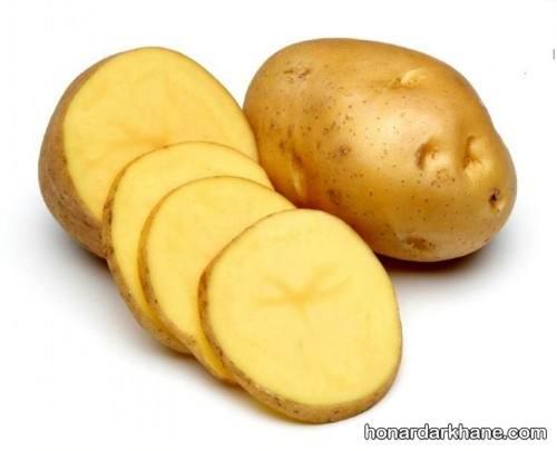 غذای فوری با سیب زمینی