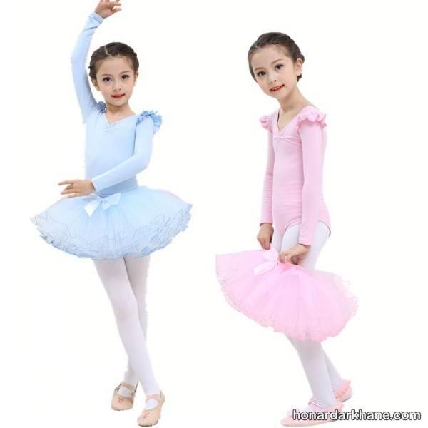 خیاطی لباس باله کودکان