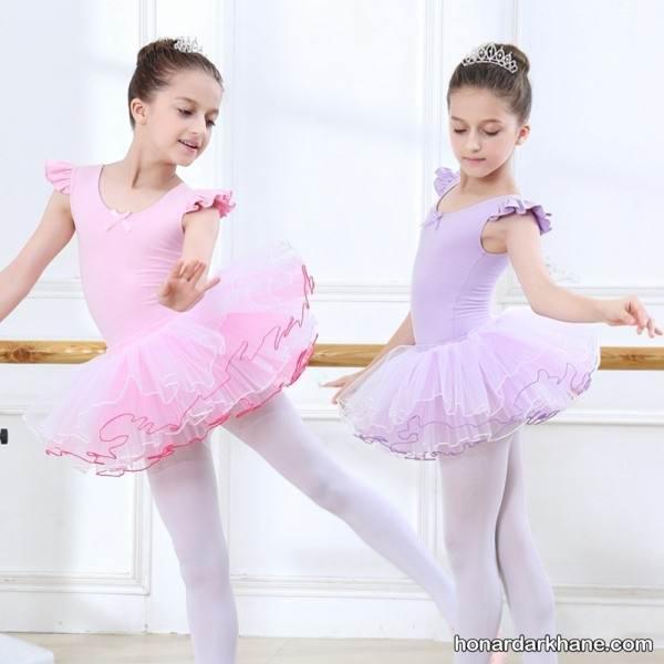 روش دوخت لباس باله دخترانه