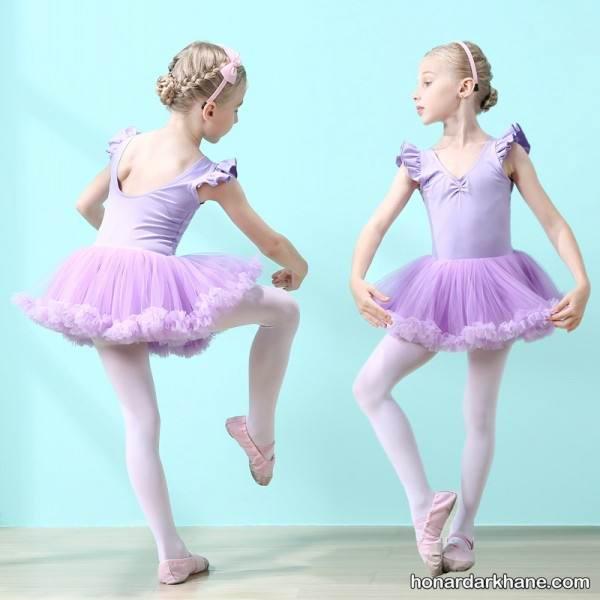 دوختن لباس باله کودکان