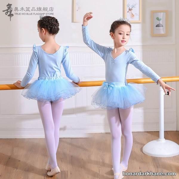 روش دوخت لباس باله کودکان