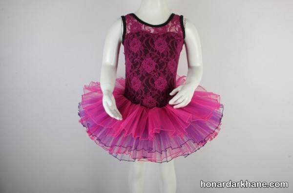 مدل های لباس جدید باله دخترانه