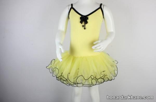 الگوی لباس باله