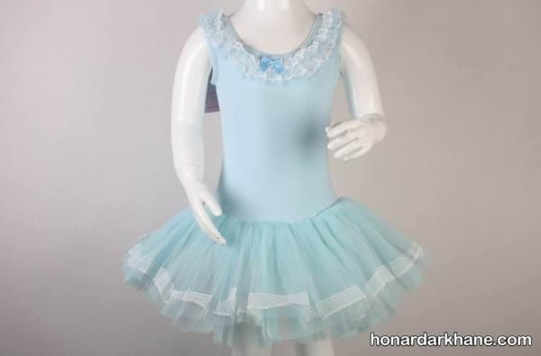 نمونه لباس باله دخترانه