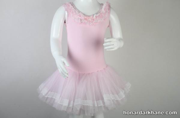 الگو برای پیراهن رقص باله دخترانه