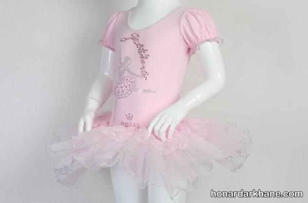 دوخت لباس باله کودکان