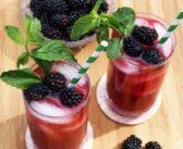 تزیین لیوان شربت و آبمیوه برای پذیرایی شیک از مهمان ها