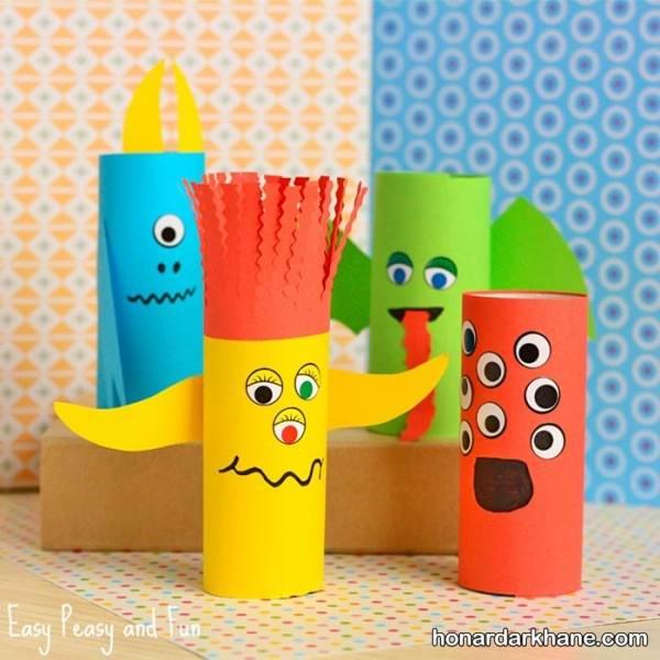 کاردستی با کاغذ برای بچه ها