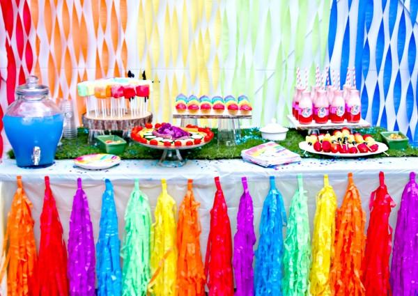 تم جشن تولد رنگی