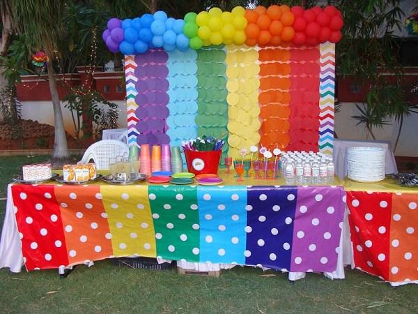 تزیین میز برای تولد