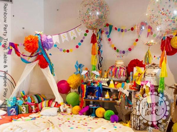 تزیین اتاق برای تولد