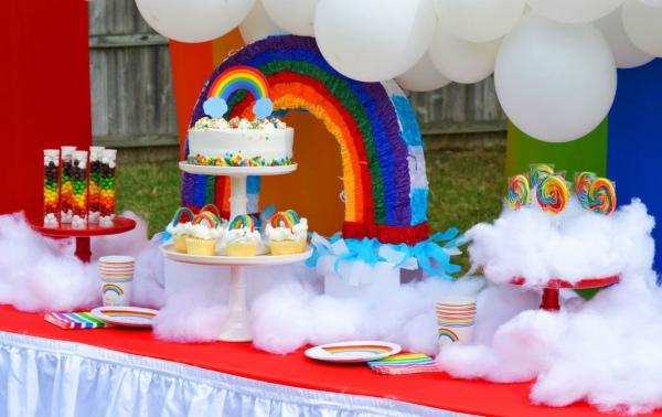 تم جشن تولد ساده