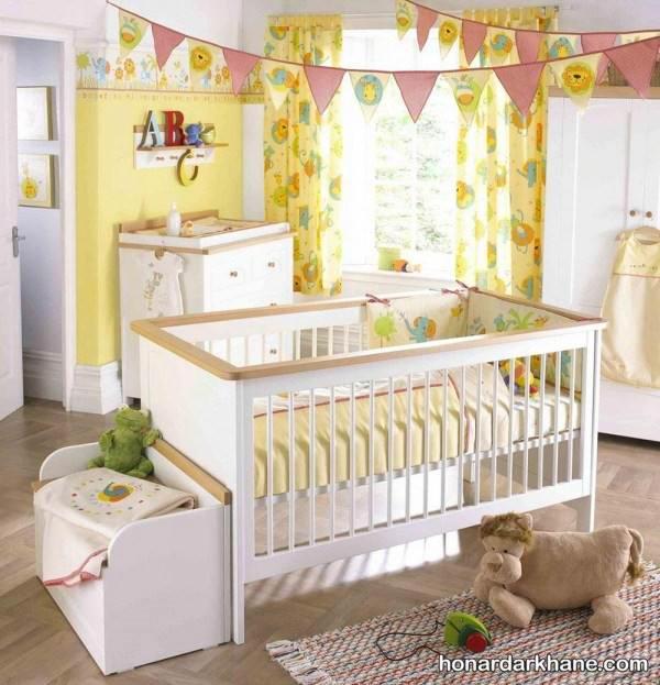 تزیین کردن اتاق برای نوزاد