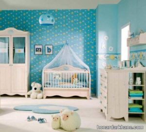 تزیین سیسمونی برای نوزاد