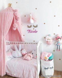 تزیین اتاق دخترانه
