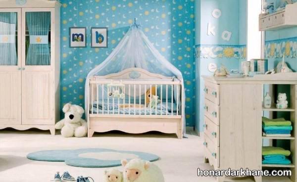 تزیین گهواره نوزاد