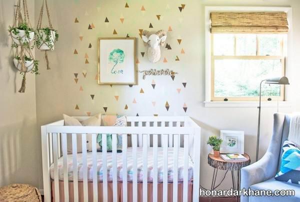 تزیین سیسمونی نوزاد