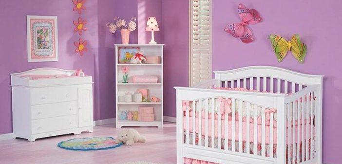 تزیین اتاق نوزاد دخترانه