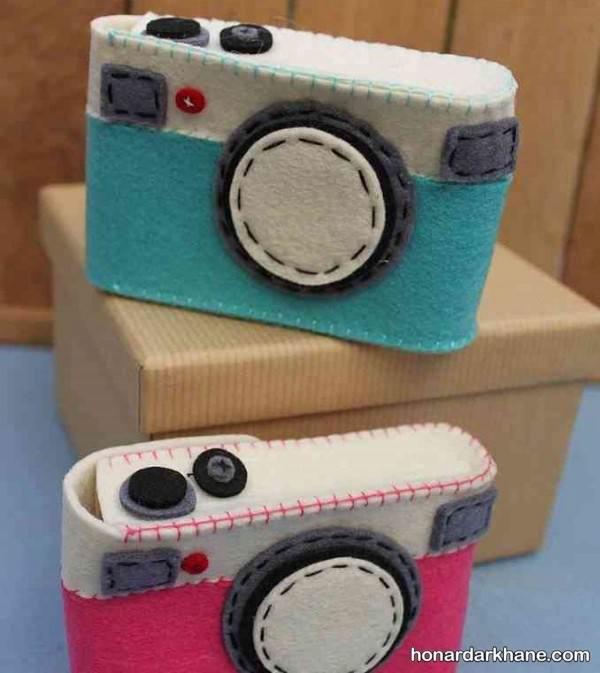 ساخت کاردستی دوربین