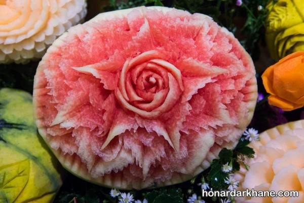 تزیین کردن هندوانه جدید