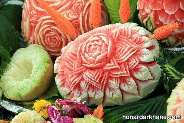 تزیین هندوانه شیک