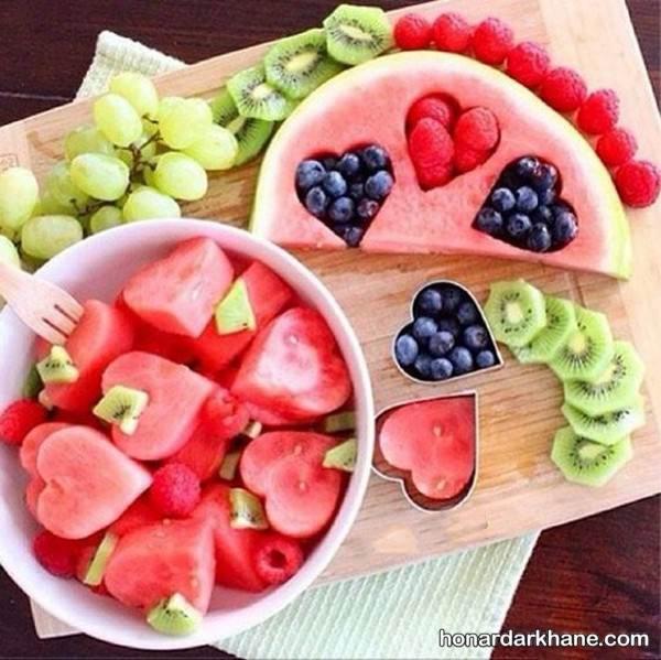 تزیین میوه فانتزی