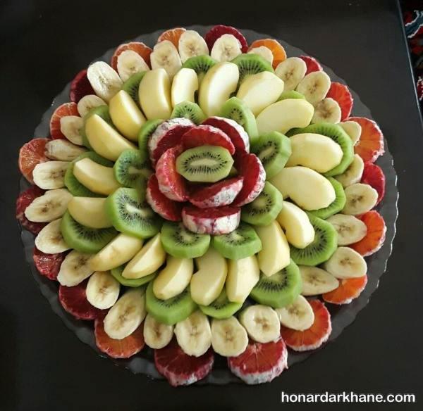تزیین کردن میوه