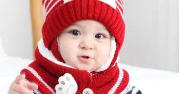 مدل کلاه بافتنی نوزاد پسر