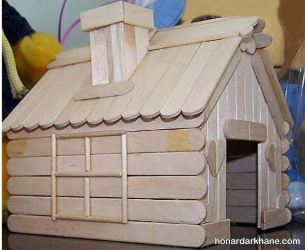 ساخت وسایل نوآورانه با چوب بستنی