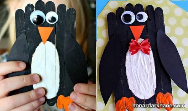 خلق کاردستی های جالب با چوب بستنی