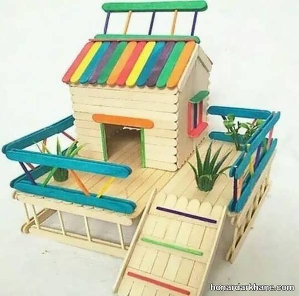 چگونه خانه های چوبی زیبایی بسازیم