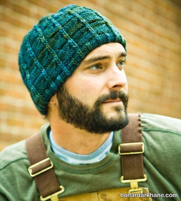 مدل کلاه بافتنی مردانه