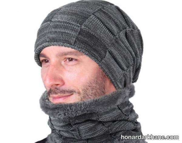 بافتن کلاه مردانه