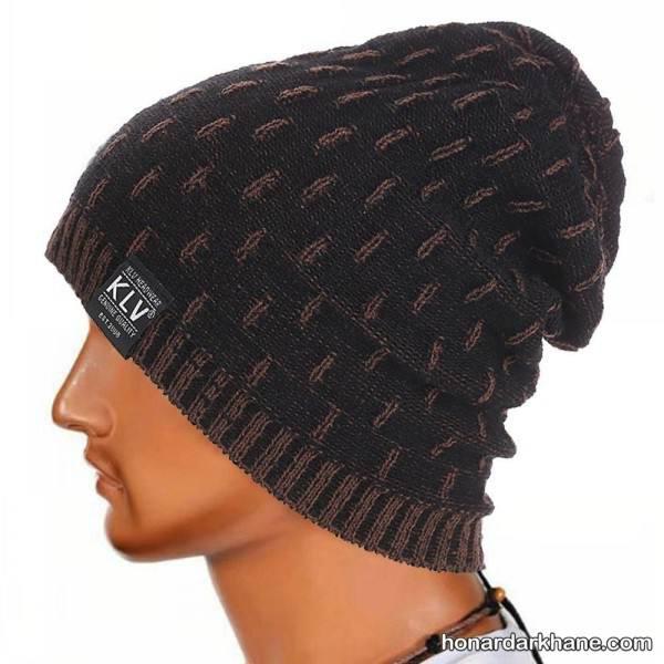 کلاه بافتنی مردانه
