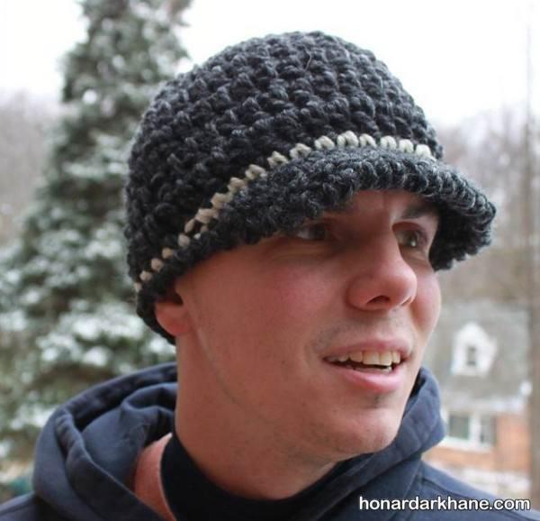 مدل کلاه بافت مردانه