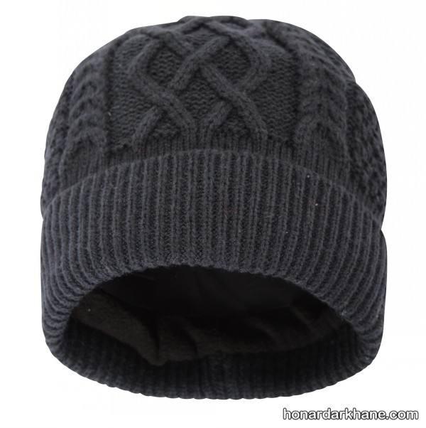 مدل جدید کلاه بافت