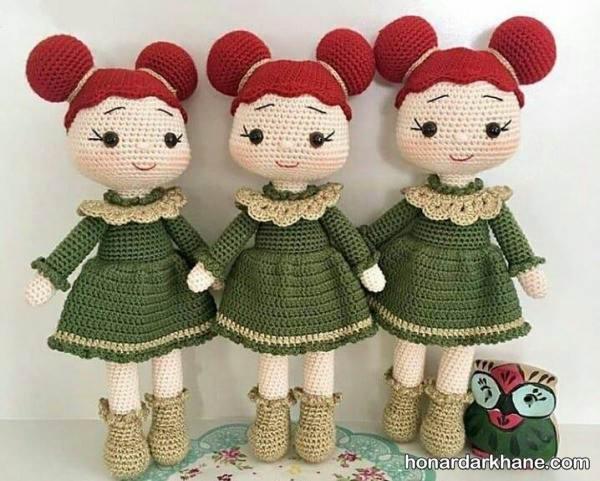 عروسک بافتنی زیبا و جدید