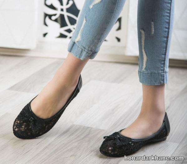 کفش روفرشی دخترانه