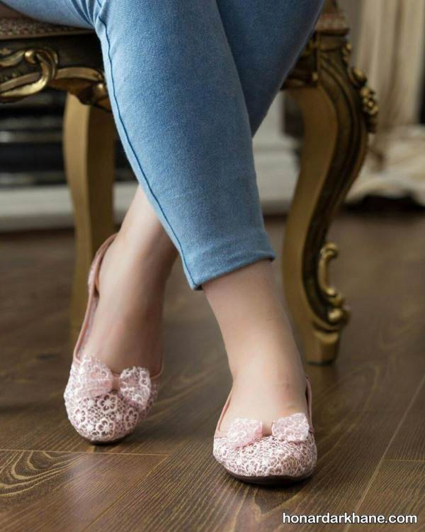 کفش روفرش پاپیونی