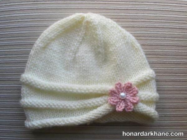کلاه های بافتنی نوزادی