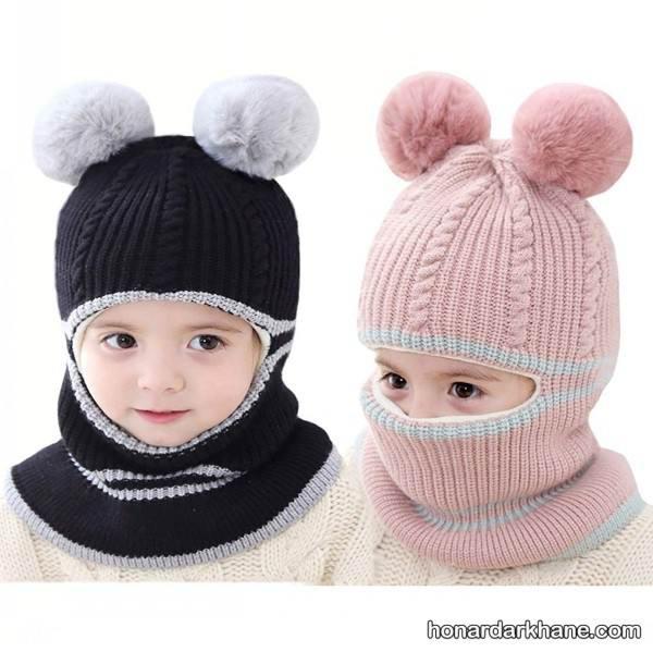 کلاه بافتنی کودک