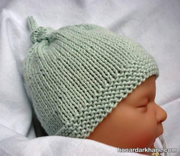 مدل کلاه بافتنی پسرانه